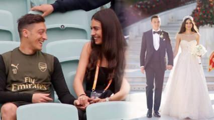 Maçta sakatlanan Fenerbahçeli yıldız Mesut Özil'e destek eşi Amine Gülşe'den