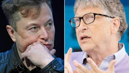 Milyarderler karşı karşıya! Bill Gates Elon Musk'ı hedef aldı
