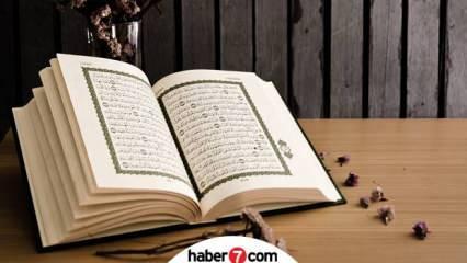 Nuh Suresi faziletleri nelerdir? Nuh Suresi Arapça okunuşu ve Türkçe anlamı...