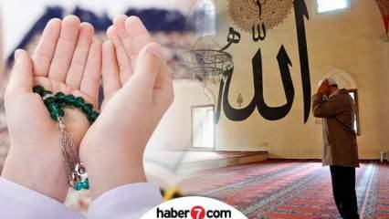 Regaip Kandilinde okunacak dualar nelerdir? Peygamber Efendimiz (s.a.s)'in okuduğu dualar...