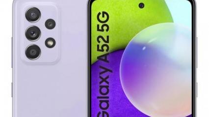 Samsung Galaxy A52'nin teknik özellikleri ve tasarımı sızdırıldı