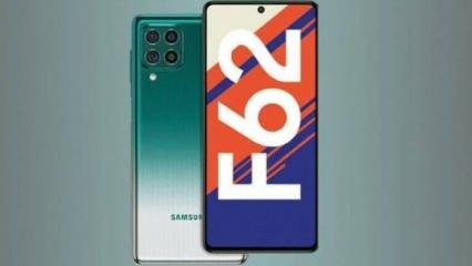 Samsung'dan bataryası bitmeyen akıllı telefon: Galaxy F62
