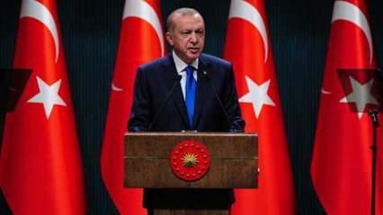 Son Dakika: Cumhurbaşkanı Erdoğan: Normalleşme takvimi 4 kategoride Mart ayında başlıyor