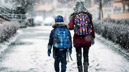 Kar yağışı nedeniyle açılan okullar tatil edildi! Valilik'ten son dakika açıklaması
