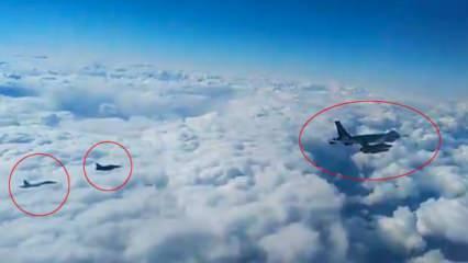 Rus yapımı Su-27'ler Karadeniz'de Fransız uçaklarına müdahale etti