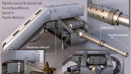 Uzay'da ateşlenen silahın görselleri paylaşıldı