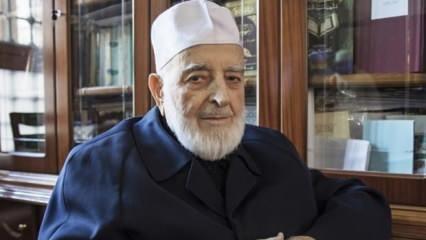 Yusuf el-Karadavi'den Muhammed Emin Saraç Hoca için taziye mesajı