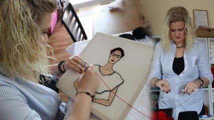 2 çocuk annesi kadın hobi olarak başladı, yurtdışından bile sipariş alıyor!