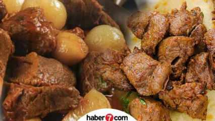 Afyon kebabı nasıl yapılır? Yoğurtlu Afyon kebabı için malzemeler nelerdir?