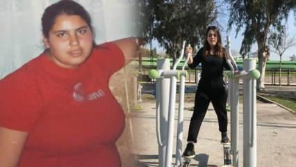 Epilepsi hastası Ceylan'ın annesi ağlayarak istedi, 5 ayda 38 kilo verdi!