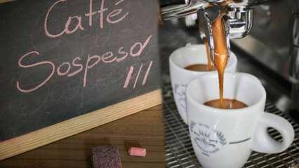 Askıda kahve ne demek? Caffé Sospeso: Napoli Usulü askıda kahve geleneği