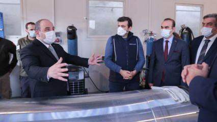 Bakan Varank: Türkiye'yi uzay ligine taşıyacağız