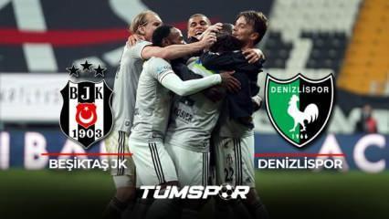 Beşiktaş Denizlispor BeIN Sports geniş özeti ve golleri   Kara Kartal 3 puanı 3 golle aldı!