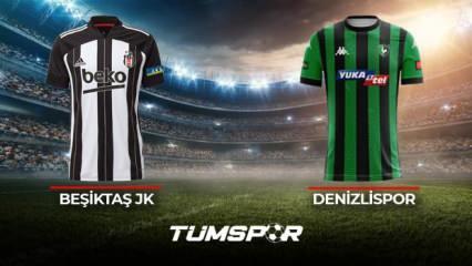 Beşiktaş Denizlispor maçı ne zaman saat kaçta hangi kanalda? İşte Beşiktaş Denizli maçı 11'leri