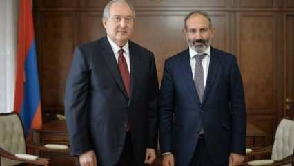 Cumhurbaşkanı Sarkisyan, Paşinyan'ın talebini onaylamadı