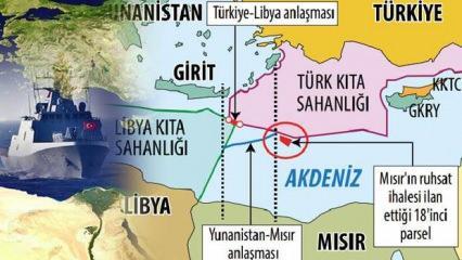 Doğu Akdeniz'de 18'inci parsel kriz! Mısır'ın Türkiye hassasiyeti Yunanistan'ı kızdırdı