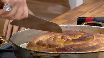 El açması Boşnak böreği nasıl yapılır? Çıtır çıtır Boşnak böreği tarifi...