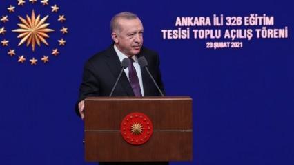 Erdoğan'dan atama müjdesi! Yüz yüze eğitim için açıklama geldi