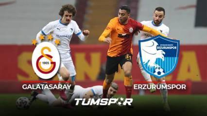 Galatasaray Erzurumspor BeIN Sports geniş özeti ve golleri! | Sarı Kırmızılılar evinde galip