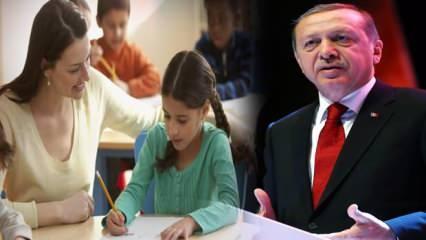 2021 MEB öğretmen atamaları ne zaman başlayacak? Cumhurbaşkanı 20 bin öğretmen atama müjdesi!