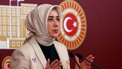 AK Parti Grup Başkanvekili Özlem Zengin: Bir terör örgütü tarafından hedef gösteriliyorum