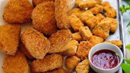 Hazır nugget nasıl pişirilir? Dondurulmuş nugget kızartma tarifi