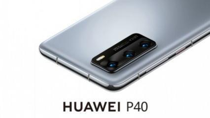Huawei P40 4G Kirin 990 işlemciyle tanıtıldı
