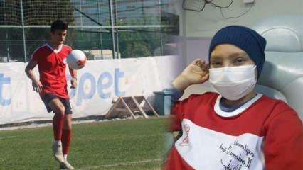 13 yaşında lösemiye yakalandı, futbol sayesinde kanseri yendi!