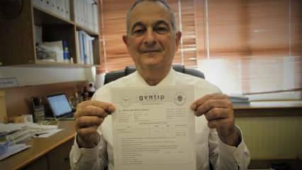 Koronavirüs aşısı olan profesör aşı olmaktan çekinenler için antikor sonuçlarını paylaştı!
