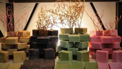 Elazığ'da dedesinden kalma 80 yıllık mesleği 20 metrekarelik dükkanda sürdürüyor!