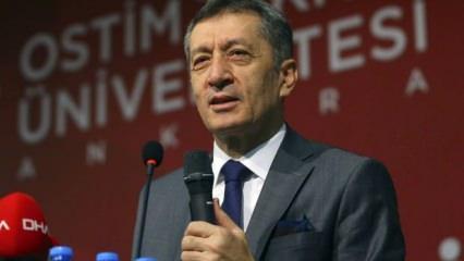 Okullar açılıyor! Milli Eğitim Bakanı Selçuk'tan açıklama