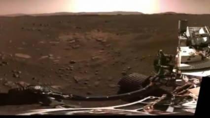 Mars'tan ilk video yayınlandı: NASA: Sükunet ve ihtişam...