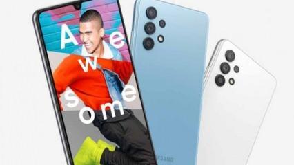 Samsung'dan 90Hz ekranlı akıllı telefon: Galaxy A32 4G