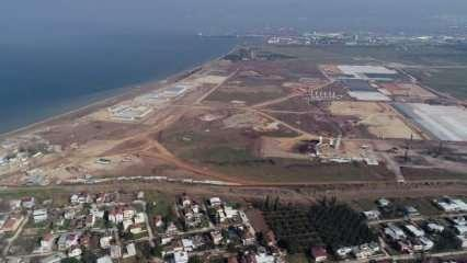 TOGG'un üretim üssü havadan görüntülendi! Fabrika inşaatı hızla ilerliyor!