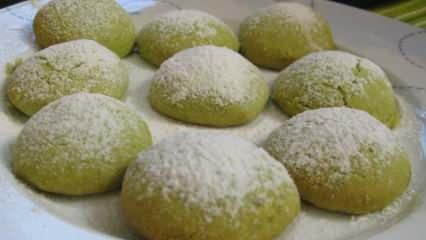 Toz fıstıklı az malzemeli kıyır kıyır fıstıklı kurabiye nasıl yapılır?