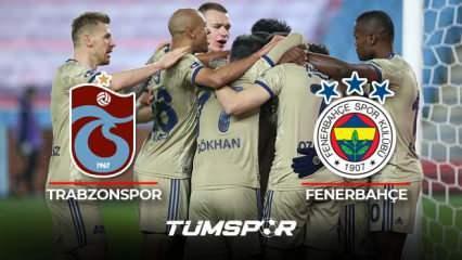 Trabzonspor Fenerbahçe maçı BeIN Sports geniş özeti ve golleri! | Fenerbahçe deplasmanda galip