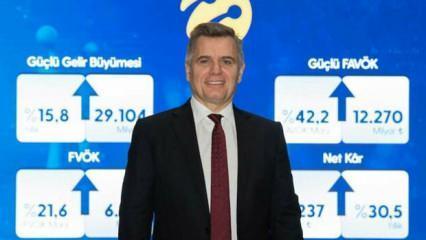 Turkcell 1,6 milyon net faturalı müşteri kazanımıyla son 11 yılın rekorunu kırdı