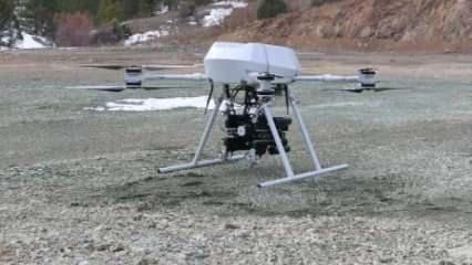 Türkiye'nin ilk milli bomba atarlı drone'u Songar