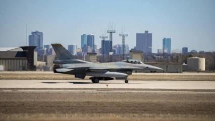 İlk 'Viper' Yunan F-16'sı, ABD'de Türkiye'ye karşı havalandı