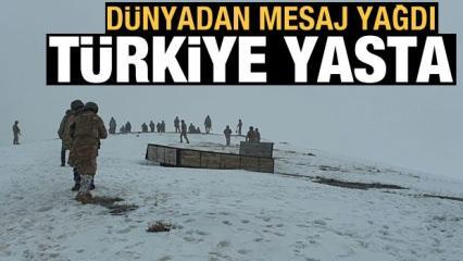 11 şehit! Dünyadan Türkiye'ye başsağlığı mesajları