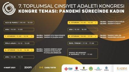 KADEM 'Pandemi Sürecinde Kadın' kongresi gerçekleşti!
