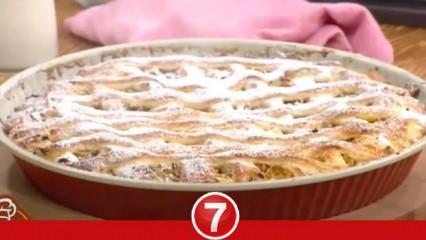 Ayvalı portakallı tart nasıl yapılır? Nermin Gül'ün tarifiyle ayvalı tart hazırlanışı...