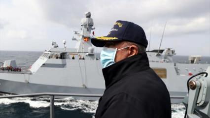 Bakan Akar'dan Doğu Akdeniz açıklaması: Bu çok önemli bir gelişme!