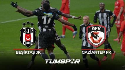 Beşiktaş Gaziantep FK maçı BeIN Sports geniş özeti ve golleri! | Kara Kartal evinde galip!