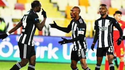 Beşiktaş tek golle zirveyi yakaladı!