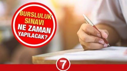Bursluluk sınavı ne zaman 2021? MEB İOKBS sınav giriş belgesi erişime açıldı mı?