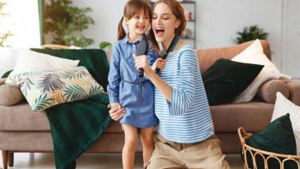 Çocuklar için ev yapımı oyunlar! Evde çocuklarla oynanabilecek oyun çeşitleri