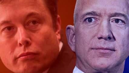 Dünyanın en zengin iki insanı arasında 'kan davası'... Elon Musk Jeff Bezos'a karşı