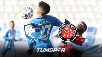 Erzurumspor Fatih Karagümrük maçı BeIN Sports geniş özeti ve golleri! | Erzurum 2-2 Karagümrük