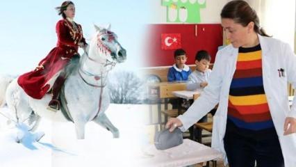 Erzurum'un yetenekli 'Süper Öğretmeni' Ayşe Melek Okuyucu'ya dizi ve film teklifleri yağıyor!
